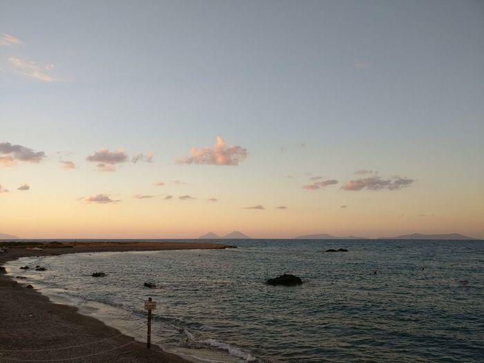 Herrlich.... Ausspannen bei solch einem ausblick fällt leicht Sunset Beach Nature Landscape