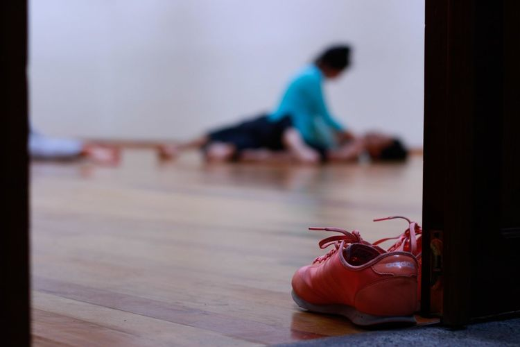 Shoes Bailarines Estudio Danza Indoors  People