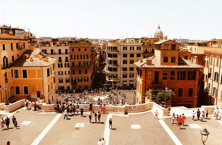 | Concrete jungle | Spanish Steps Spanish Steps, Rome Italy Travelphotography Ancient Architecture History Detail Textures Light And Shadow Beautiful Canonphotography Tourists Roma Canon Traveltheworld Wanderlust Italy❤️ Photoblogger VSCO Capetownphotographer Travelblogger Instatravel Roman Italy City Women Walking Architecture Sky Building Exterior Built Structure Tourist Place Of Interest Mixed Age Range