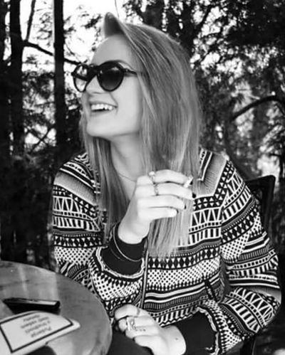 Hellosunshine Cigarette  Coffee Me Beautiful Happy Love Beauty Street Fashion Girl Model Cute Hot Lesbian Perfect That's Me Sexygirl Smile
