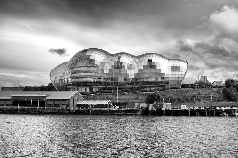 Sage Gateshead, Newcastle Architecture Building Exterior Built Structure City Cloud - Sky Day Nature No People Outdoors River Sage Gateshead Sky Travel Destinations Water Waterfront
