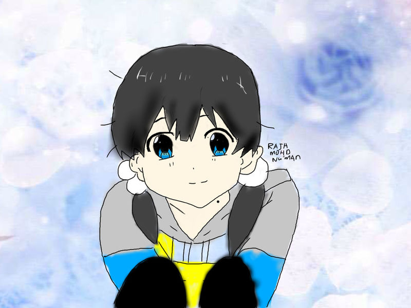 Drawing!!! Anime OtakuAnime AnimeDaisukiForLife KAWAII My Drawing Draw Drawing