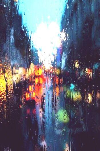 Rain In The City Hello World Colors