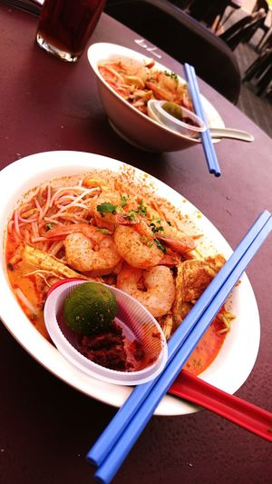 Sarawak Laksa, a local cuisine which is favourite breakfast for most of the Sarawakians. Laksa Sarawak Malaysia Food Mouthwatering Favourite Breakfast Local Cuisine Must Try Delicious Two Is Better Than One