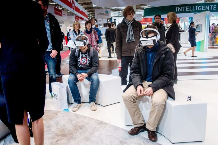 Pure Excitement Human Meets Technology Headset Cyber Punks Head Mounted Display Escape Isolated Virtual Reality Virtual Unreal Oculus Rift Matrix Envision The Future Internet Addiction