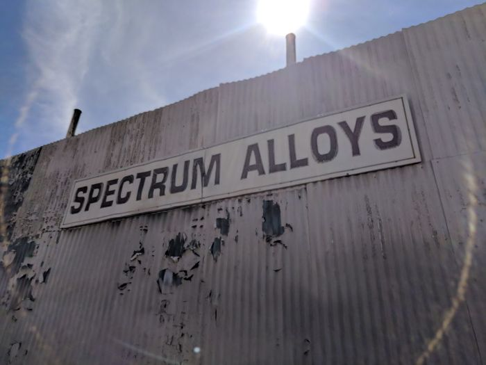 (Light) Spectrum. Visible. Creative Reaction. Sunlight Into Camera. Urban Photography Creative Photography Sunlight And Shadow Close-up Shining Streaming Sunbeam Western Script Capital Letter Signboard