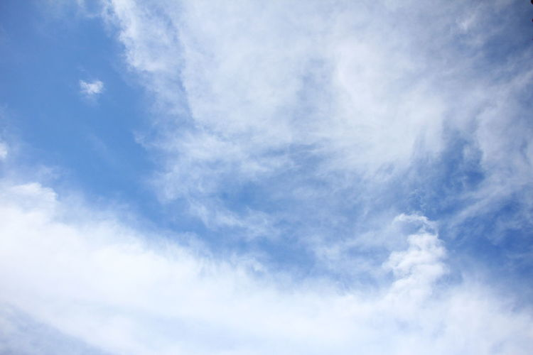 sky with cumolus clouds Cloud - Sky Sky Blue Beauty In Nature Nature White Color Scenics - Nature Tranquility No People Tranquil Scene Day Outdoors Meteorology Cumulus Cloud