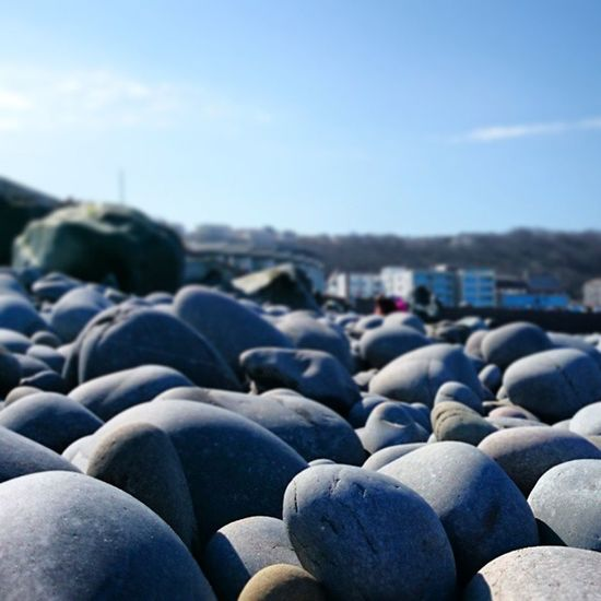 Pebbles at Westwood Ho! Dayoutatthebeach