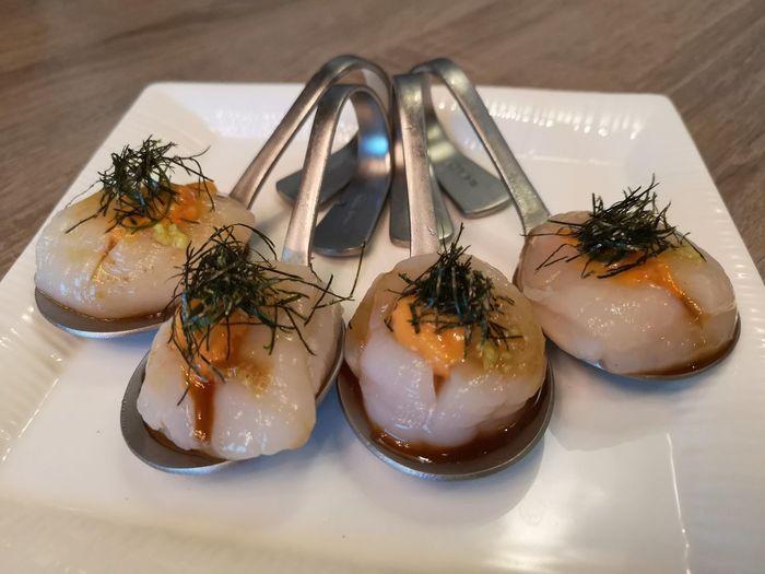 友誼 是最佳調味料 Delicious Tasty 聚餐 EyeEm Selects Seafood Plate Japanese Food Cultures Close-up Food And Drink Caviar Served
