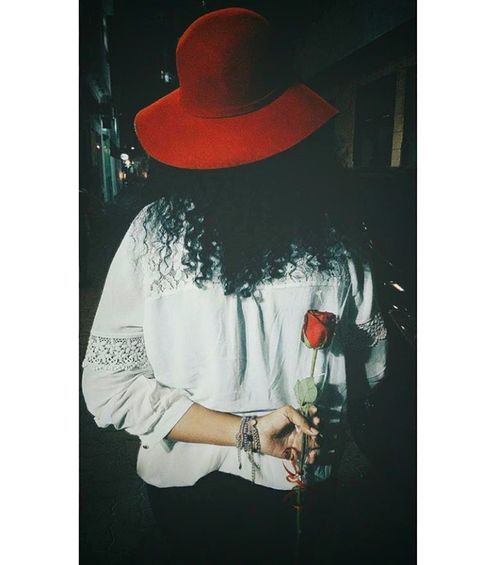 Found On The Roll Redrose  Redhat Thikingpositive Curly Girl