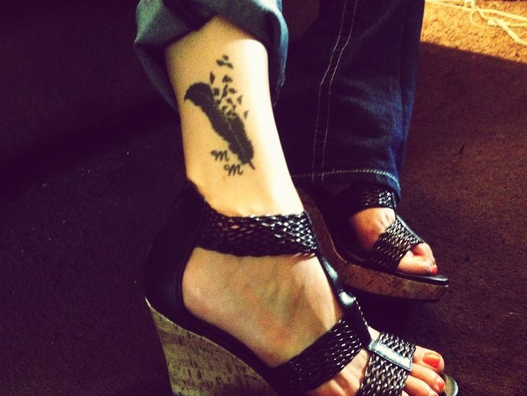 Taking Photos MyTattoo♥ Lovemyshoes That's Me IPhoneography Ankletattoo