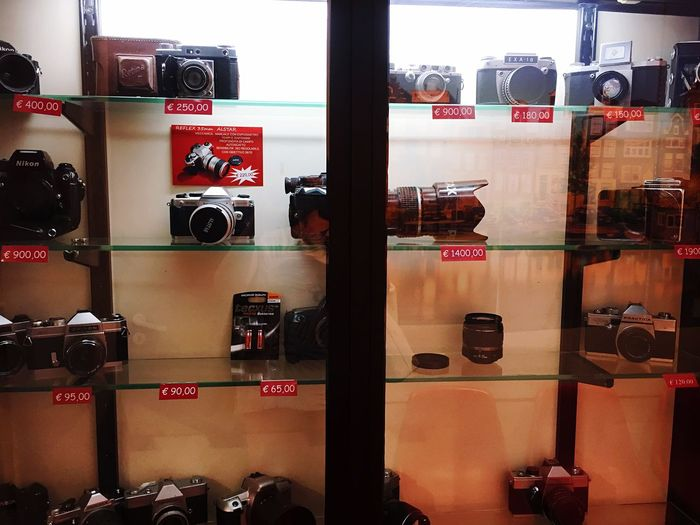 Photo Of Camera Camera - Photographic Equipment In A Row Choice Large Group Of Objects Variation Technology Full Frame Group Of Objects