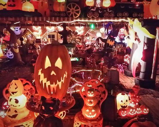 Halloweentime Halloween_Collection Lights Halloween Decorations Halloween2015 Halloween Colorful Happy Halloween Holiday Lights EyeEm Colorful! Spokane Wa EyeEm Around The World