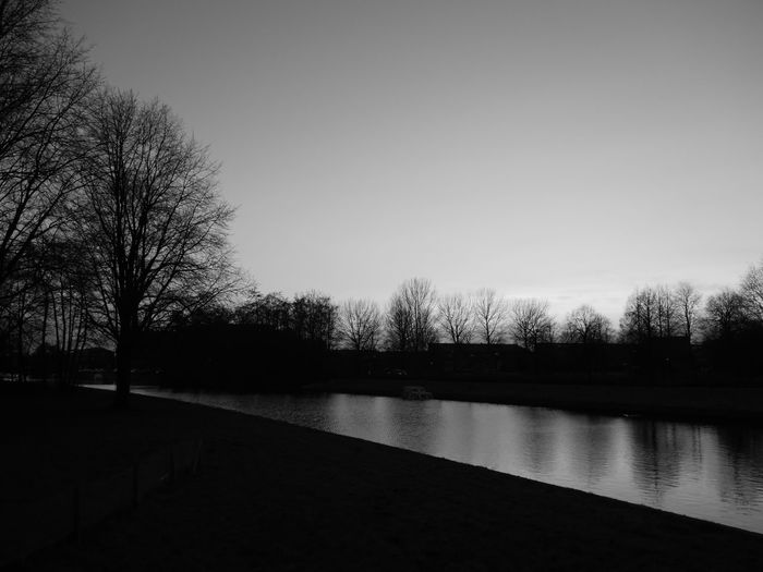 Amsterdam Netherlands Black And White Transience Shines Every Single Moments