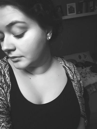 Selfie ✌ Headshot Blackandwhite