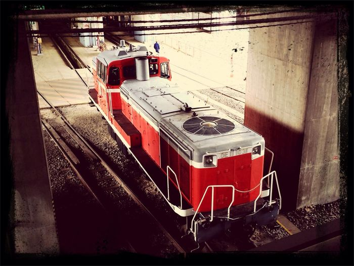 Diesel Locomotive DE11 1031 Street Photography Train Station
