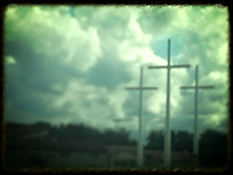 Road Trip Tennessee Interstate View Crosses Photo Editor Pro