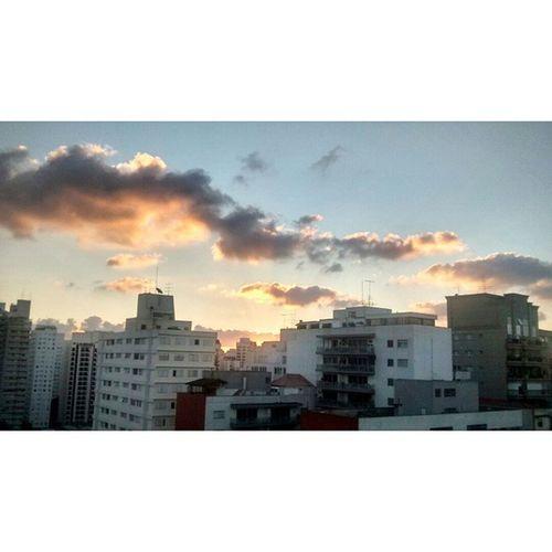 I Am Home. <3 Home Brazil City Saopaulo beautiful lights sky amazing day echelon love mars