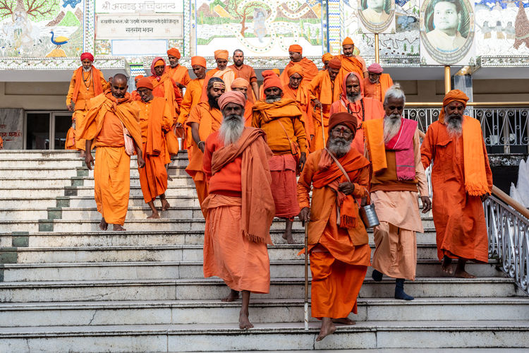 The monks of