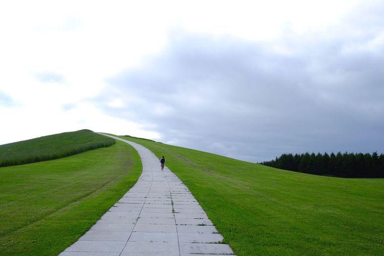 モエレ山。 北海道 モエレ沼公園 モエレ山 Hello World Enjoying Life Trip Japanese  Fujifilm_xseries