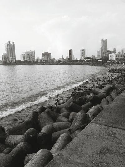 Beach Sea Cityscape Coastline Water Cloud Outdoors City First Eyeem Photo