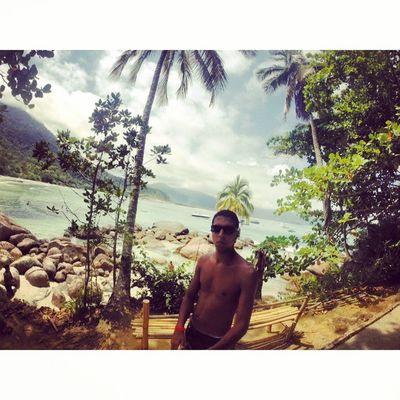 A praia é a melhor maneira da mente poder desligar.Eu espero a semana inteira, não quero pensar em voltar. Gopro Goprorj Ilhagrande Trippics Selfiegopro Beach Natureza