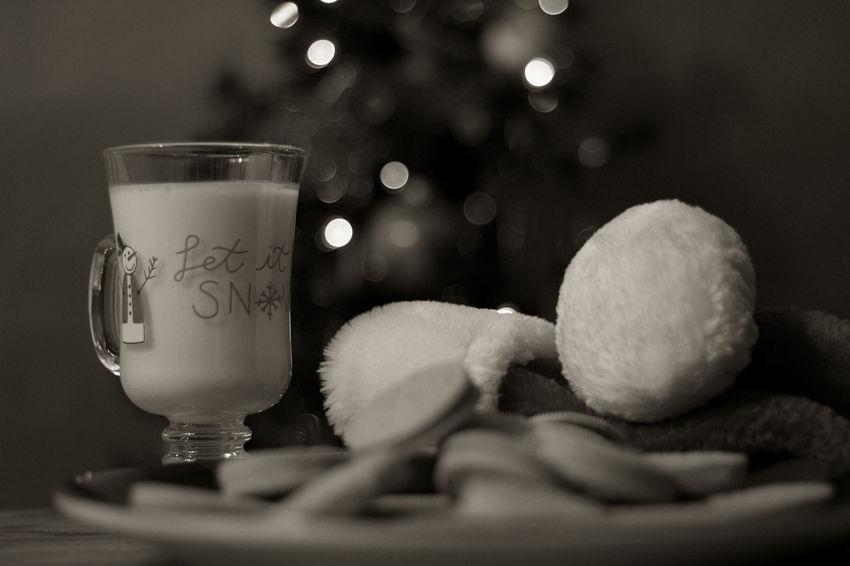 Cookies for Santa EyeEm Selects Santa Snack Snack Food Milk Egg Nog Eggnog Treat Bokeh For Santa Santa's Treat Holidays Santa's Santa's Hat Night Before Christmas Christmas Tree Christmas Bokeh Background Cookies For Santa Indoors  Christmas Celebration No People Close-up Moon Day