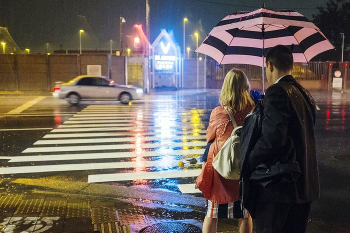 Rainy Night FUSSA Yokota YokotaAirBase Militaryfamily Tokyo Japan Fuji X100s First Eyeem Photo Streetphotography