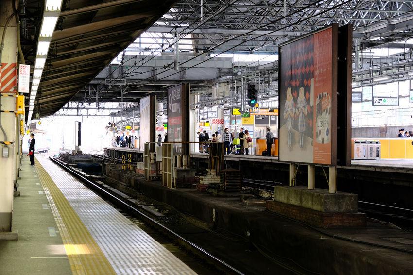 新橋駅/Shimbashi Station Built Structure Fujifilm FUJIFILM X-T2 Fujifilm_xseries Japan Japan Photography Railroad Station Platform Shimbashi Station Station Tokyo Transportation X-t2 新橋駅 駅