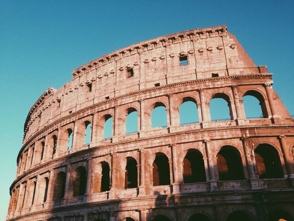 Rome, Italy. Italy Colosseo Colosseum Travel Historical Building