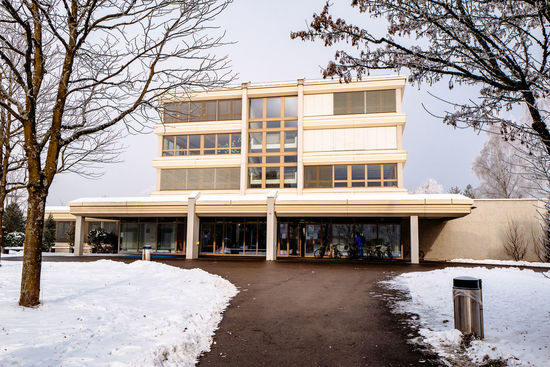 Architecture Building Exterior Built Structure Cold Temperature Day Modern No People Outdoors Snow Sursee Tree Winter