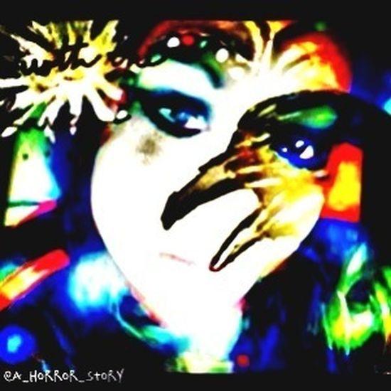 Darkart The Raven Dark Warriors Psychedelic_colors