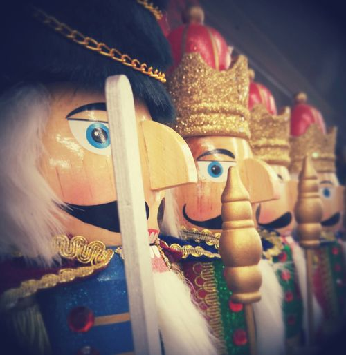 Nutcracker Vibes Nutcrackers Wooden Soldiers Holiday Season All In A Row