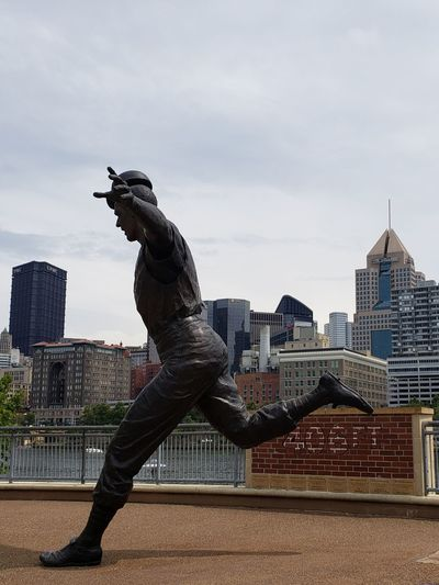 Homerun 406 Ft Pennsylvania Pittsburgh PNC Park PNC Park Stadium Business Finance And Industry Tranquil Scene Pennsylvania Beauty Tranquility Water Tourism River Bill Mazoroski Pittsburgh Pirates City Cityscape Urban Skyline Skyscraper Full Length Modern Men Sky Architecture Building Exterior Statue Idol Office Building Human Representation Male Likeness The Great Outdoors - 2018 EyeEm Awards The Traveler - 2018 EyeEm Awards The Architect - 2018 EyeEm Awards