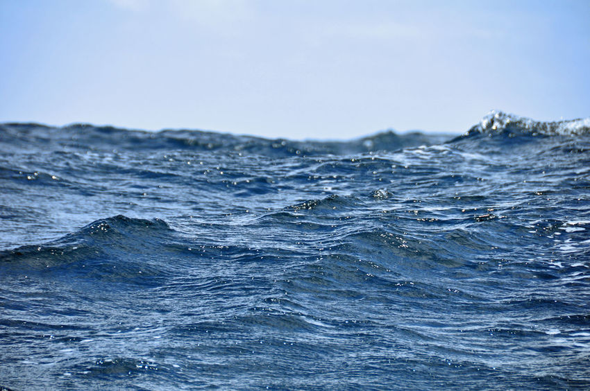 Atlantic Blue Atlantic Atlantic Ocean Beauty In Nature Blue Clear Sky Close-up Nature No People Open Water Scenics Sea Water Blue Wave Blue Water Blue Color