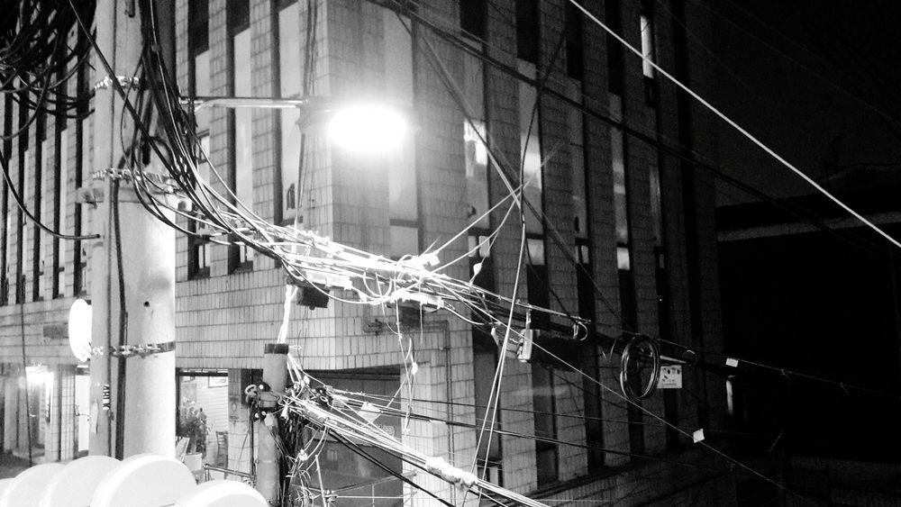 A Complicated Machine Electric Lines How Come? WOW Seoul Hongdae Street