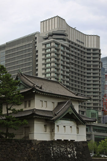 Watchtower of the Imperial Palace, Tokyo Architectural Feature Architecture ASIA Building Exterior Building Story Built Structure City City Life Day Development Façade Japan Metropolis Modern No People Office Building Outdoors Residential District Sky Skyscraper Tall Tall - High Tokyo Tower Travel Destinations