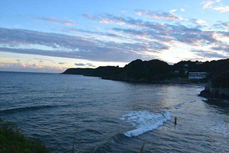 Taking Photos Seaside Vacations Sunset Nikon D5500