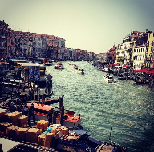 AndjelaMancic EyeEm Best Shots First Eyeem Photo EyeEm Gallery Venice Italy Canals Boats Architecture Vintage