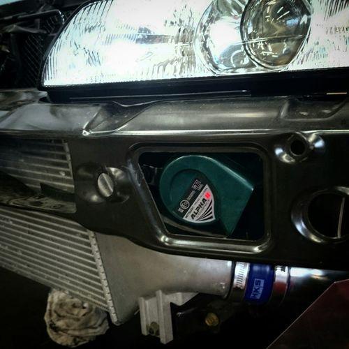 ホーンがぴったりサイズでビックリ♡ BNR32 Drift R32 BCNR33 Bnr34 GT-R Nissan Nismo  R33 R34