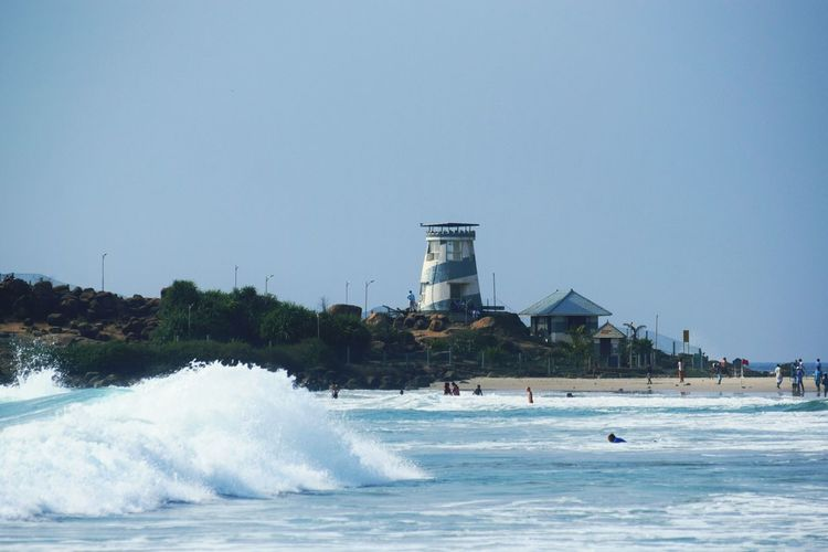 Beach Watch Tower Waves, Ocean, Nature Surfers Paradise Beachphotography