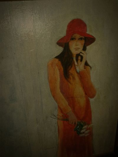 Freshness Vintage Smart Phone Photo Of Lady Painting W Oils Re.t_photographerCreations@ Photography Themes EyeEmNewHere Indoors  Day No People Young Adult Photos Taken W Cell Phone Subtile Inondation Warmth Feeling Photography