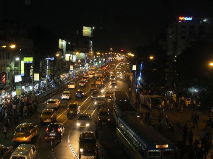 City of Kolkata....😘 Night Illuminated Traffic City City Life City Street Traffic Jam Street Car Outdoors Rush Hour Cityscape Urban Skyline No People Sky Neighborhood Map