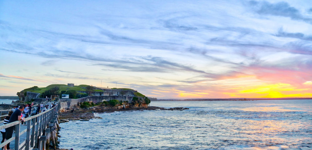 HDR La Perouse Sea Sunset