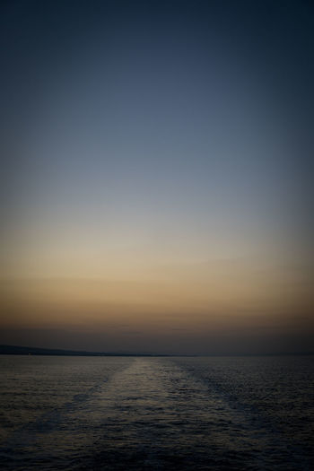 Japan Beauty In Nature Blue Clear Sky Day Dusk Horizon Over Water Idyllic Nature No People Outdoors Rippled Scenics Sea Sky Sunset Tranquil Scene Tranquility Travel Destinations Water