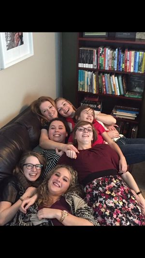 Cuddle puddle ☺️ Man I Love Them Momma K Ow  Hot Mess