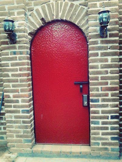 Door Puerta Roja Red Hotel Door