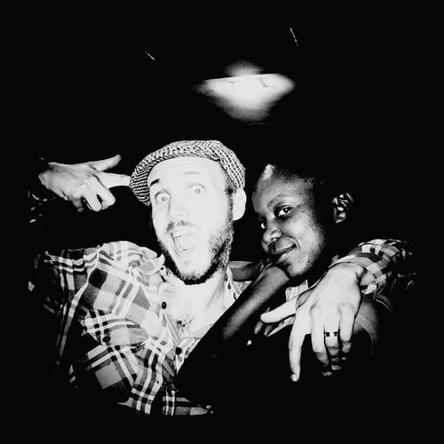 Lovers Crazy Love The Human Condition Mobilephotography Blackandwhite Newly weds hehe