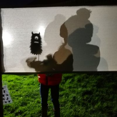 Standing Real People Three Quarter Length One Person Focus On Shadow Holding Shadow Silhouette Outdoors Grass Shadowplay Bonfire Night Bobblehat