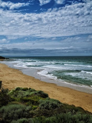 Australia surf beach Beach Sea Nature Water Sky Beauty In Nature Sand Tranquility No People Scenics Tranquil Scene Wave Cloud - Sky Horizon Over Water Day Outdoors Landscape Grass Surf Australia Waves Waves Crashing Surf Beach Jan Juc